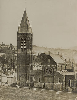 The Church of Our Lady and St Mary Magdalen, Tavistock, was designed by Henry Clutton